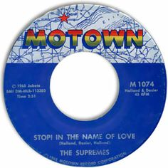 supremes 45 | Classic Northern Soul, Motown Style 45: The Supremes--Stop! In The ...