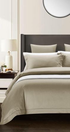 Sleep in the best comfort possible like this Luxury Bedding Set that is specially made with Egyptian Cotton with High Thread Count fabric. This Luxury Bedding Set with a skin soothing softer touch fabric will create the perfect sleeping environment for you while improving your sleep hygiene. Improve your bedroom decor as well with more comfort. #bedding #luxury #beddingset #duvet #duvetcover #bedlinen #bedsheet #luxuryhomes