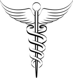 result for nurse symbol tattoos Symbol Tattoos, Caduceus Tattoo, New Tattoos, Tribal Tattoos, Tattoo Fonts, Tatoos, Diabetes Tattoo, Tattoo Ideas, Dna Tattoo