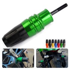 Motorbike for kawasaki z800 z 800 CNC Motorcycle Exhaust Slider Crash Protector M10 motorcycle accessories parts