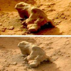 Самые невероятные находки на Марсе за всю историю его изучения