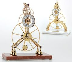 Chris of Clickspring presents a fascinating step by step process of how to build a clock from scratch. More than a tutorial, he demonstrates the fine craft