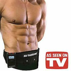 Now you can firm, tone, tighten and strengthen your abs without breaking a sweat
