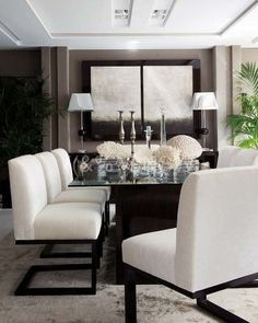 Your dining room chairs can never be too comfortable  http://pinterest.com/treypeezy
