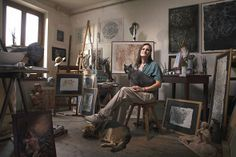 Marta Polli, Sculptress - Printer per Alessandro Venier / #photography #oldcraftsmanship #alessandrovenier
