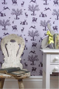Beautiful Wallpaper with whimsy