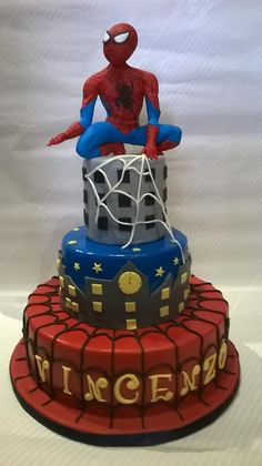 Torta Spidermen