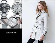 What Makes You Tick?  Burberry