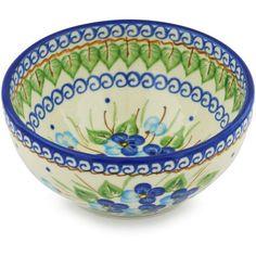 Polish Pottery 6-inch Bowl | Boleslawiec Stoneware | Polmedia H0641H | Polmedia