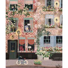 Seasons of NYC - Around the Corner no. 1 — Joy Laforme Seasons of NYC - Around the Corner no. Plakat Design, Illustration Noel, Buch Design, Art Graphique, Aesthetic Art, Cute Art, Art Inspo, Watercolor Art, Folk Art