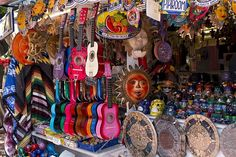 Olvera Street in the oldest part of downtown Los Angeles, California