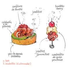 Cómo saborear un joselito... mmmmh! Valor de los diminutivos, que se te hacen la boca agua...