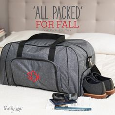 Do you have a child that travels for sports? This is the perfect bag. Want to get it for 60% off this month? Click on the picture to visit my website. You can join my VIP group on Facebook to hear about the best deals, get ideas for using products, exclusive pictures and videos, and to have fun. https://m.facebook.com/groups/CandicesVIPs/ #purse #thirtyonegifts #thirtyone #embroidery #monogram #totes #organization #bags #organization #wallet #HostessWithTheMostest #IGetPaidToParty