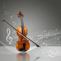 3d Wall Decor Musical Instruments Violins Romantic