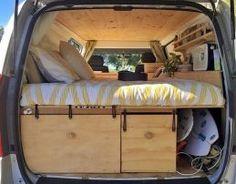 Camper van interior design and organization ideas (39)