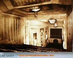 Cine Savoy (1934/1969), se encontraba en la Calle Real, después  fue tienda de Maisonfor y hoy es la perfumería  Caoba.