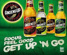 """Try this when you are in Tobago:    Setting: Beach (duh!) :)     A great and popular, non-alcoholic drink you can enjoy when in T called """"Ginseng-Up"""" What flavor do you guys like best?"""