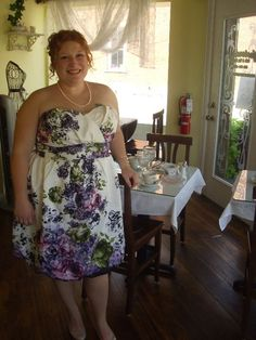 Bridal shower at Yesterday's Cafe and Tea Room
