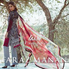 Faraz Manan lawn Collection 2016 Featuring Kareena Kapoor