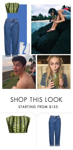 """""""43- Third-wheeling at the beach"""" by sxfiaalvarez ❤ liked on Polyvore featuring Água de Coco, Topshop and Converse"""