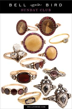 Sunday Club: Marvelous Old Rings