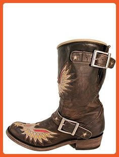 Old Gringo Biker Eagle Full Womens Boots - L816-1 - 7 - M - Boots for women (*Amazon Partner-Link)