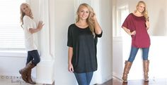 Check out this new deal from Jane! Get this cute Short Sleeve Tunic for only $14.99! Normally $36.99! Available in 9 different colors, so get the one that works for you! These will go great with jeans or leggings! If you want it, grab this deal now!