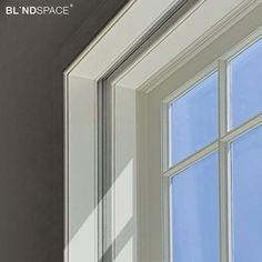 Modern shading in traditional style window. Electric Roller Blinds hidden inside timber-faced Blindspace® boxes. Blinds And Curtains Living Room, Skylight Blinds, Electric Rollers, Types Of Blinds, Blackout Blinds, Roller Blinds, Sliding Glass Door, Boxes, House Design