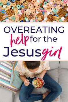 You love Jesus and want to honor Him in everything, but how does that apply to overeating and weight loss? Use these truths from the Bible to help you stop overeating and lose weight for good. #weightloss #overeating #Christianweightloss #Biblicalweightloss