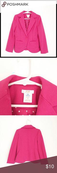 Joe Fresh Girls Blazer Adorable little girls bright pink blazer! Never worn! Joe Fresh Jackets & Coats Blazers