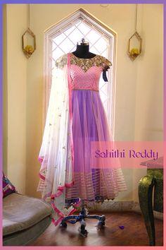 Sahithi Reddy designer. Hyderabad.  21 June 2016