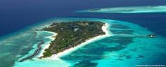 Island magic at Kuredu Capital Of Maldives, Kuredu Island, Beautiful Places To Travel, Island Resort, Kuredu Maldives, Places Ive Been, Magic, Petra, Water