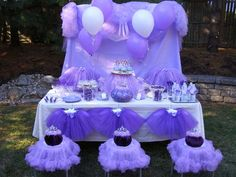 Sophia The First --The Little Purple Princess Party
