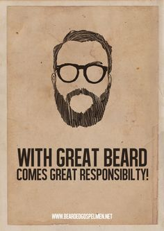 Pro Beard Quote Posters by BeardedGospelMen