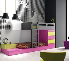 28 Best Hochbett Images In 2016 Kid Beds Platform Bed Bunk Beds