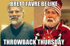 Brett Favre Be Like…