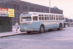 Hoboken Transportation Old Look GMC 1967 Japanese Vintage, Bus Coach, Busses, Gotham, New Jersey, Concept Cars, North America, Transportation, Queens