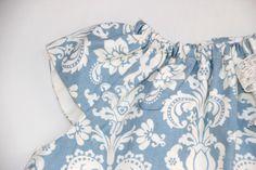 DIY Costura: Cómo hacer vestido de niña con el cuello rizado (patrones gratis) | | Oh, Mother Mine DIY!!