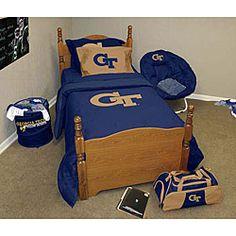 Found this Georgia Tech bedding set on Overstock!