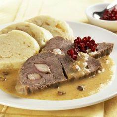 Czech Sirloin Steak in Cream Sauce RECIPE  Svickova na smetane s houskovym knedlikem
