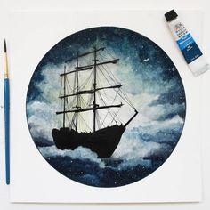 "801 kedvelés, 53 hozzászólás – A R T . P R A K E R S H (@prak3rsh) Instagram-hozzászólása: ""Let your dreams float above the sky. . . . IN SEARCH OF BALANCE 14 . . . #art #float #watercolor…"""