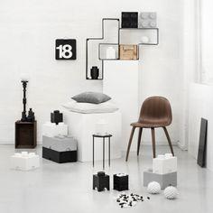 Room Copenhagen Lego säilytyslaatikko 8, harmaa | Säilytys | Sisustus | Finnish Design Shop