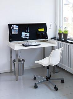 Love this multipurpose workspace IKEA