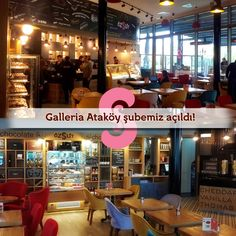 Özsüt'ten güzel haberler var :) Galleria Ataköy şubemiz açıldı! Yolu Bakırköy'e düşen Özsüt severleri en kısa zamanda bekliyoruz... #özsüt #galleria #ataköy #bakırköy