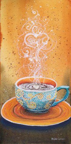 El café en la mesa te espera segur@ que tú llegarás...