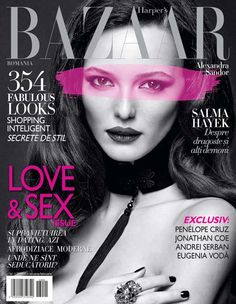 Alex Sandor - Jan-Feb 2013 Harper's Bazaar