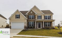"""On today's blog (Link in bio) find out """"What's Going on in Crawford Creek?"""" And the details on this great home!  #iveyhomes #forsale #realestate #crawfordcreek #exterior #frontyard #newhome Ivey Homes is a local Augusta GA home builder. Homes from the Low $100's to custom."""