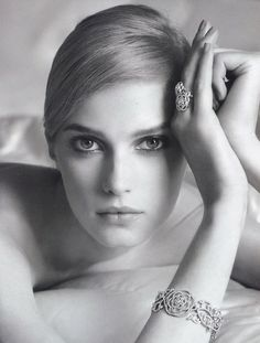 Sigrid Agren photographed by Dominique Issermann | Chanel Fine Jewelry, S/S 2012 ad campaign
