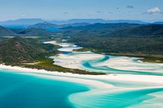 The flowing beach (Whitehaven Beach Australia) [2048 x 1365]. wallpaper/ background for iPad mini/ air/ 2 / pro/ laptop @dquocbuu