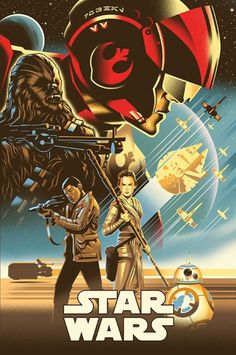 'Star Wars: The Force Awakens' by Eric Tan.